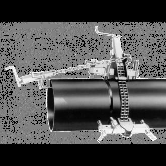 Acoplador de Tubos com Corrente Universal