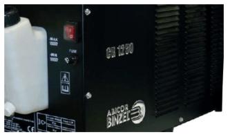 unidades de refrigeração CR 1000 e CR 1250